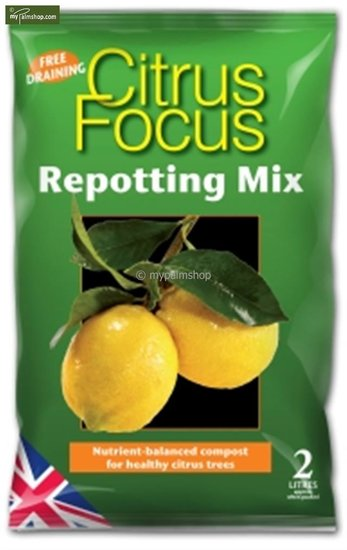 Citrus Focus Repotting Mix 2 Ltr