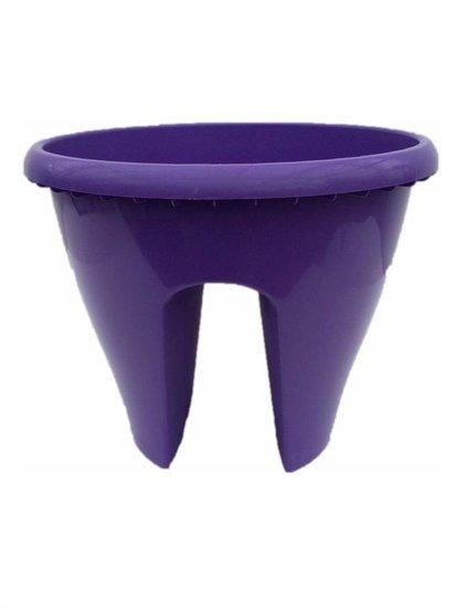 Pot de fleurs pour balcon violet