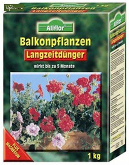 Engrais à libération lente pour plantes de balcon