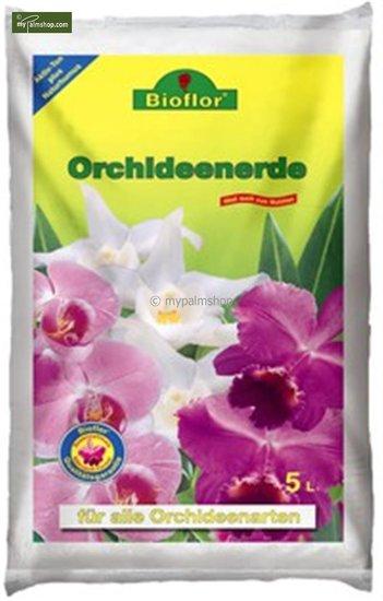 Bioflor terreau spécial orchidée 5 ltr