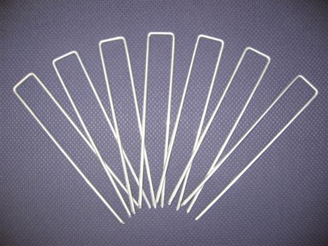 Toile de paillage anti-herbes indésirables fixing pins 10 pièces