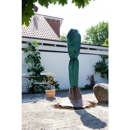 Winter protection complete set: for trunk and leaf 150 cm x Ø 35 cm - root protection pot Ø 100 cm.