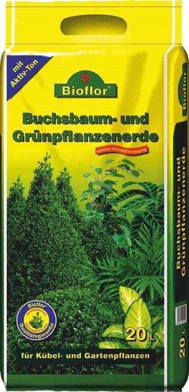BIOFLOR terreau pour buis et plantes vertes 20 ltr