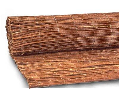 Brise-vue en osier naturel 175cm x 300cm // 2.Choice [palette]