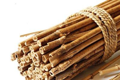 10 x Tuteurs en Bambou 150cm x Ø 16-18 mm